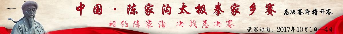 中国陈家沟太极拳家乡赛总决赛