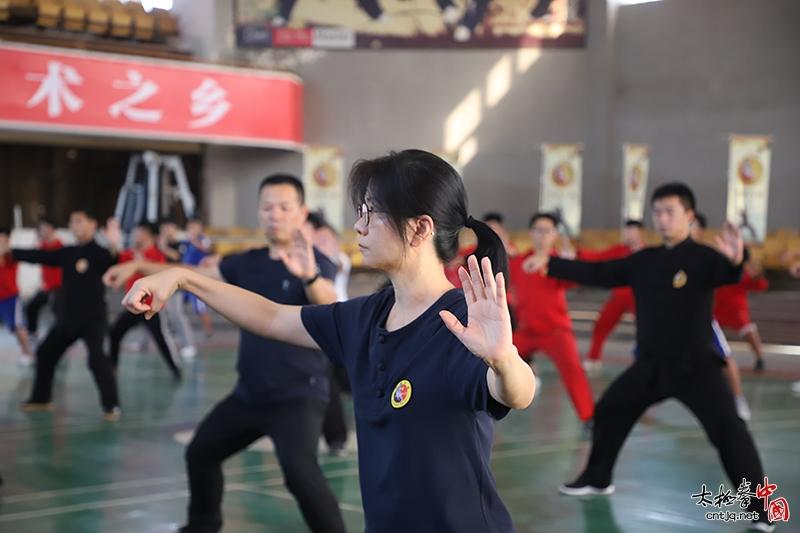 【现场直击】太极名家陈二虎太极拳老架一路高级培训班