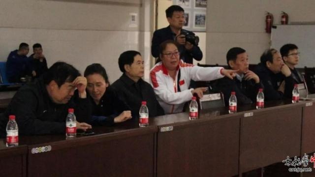 河南省、市、县领导再次莅临温县职业技术中心张保忠太极武院调研视察