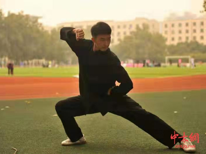 太极拳传承人——李耕航