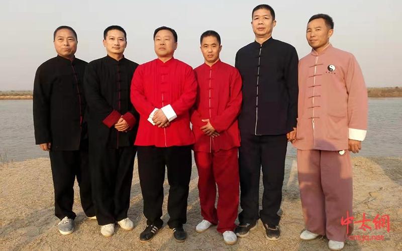 太极拳传承人——李新渠