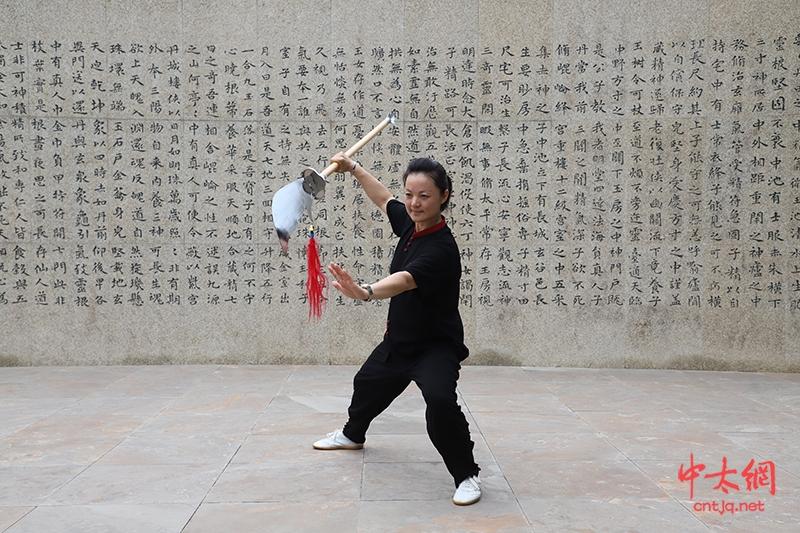 中太网专访:朱天才大师弟子、太极拳优秀传播大使——付毕翠