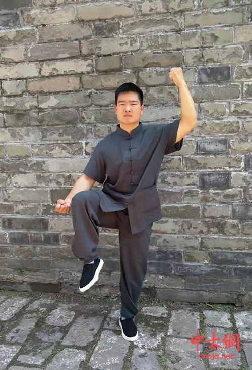 太极拳一级拳师——苗运浩