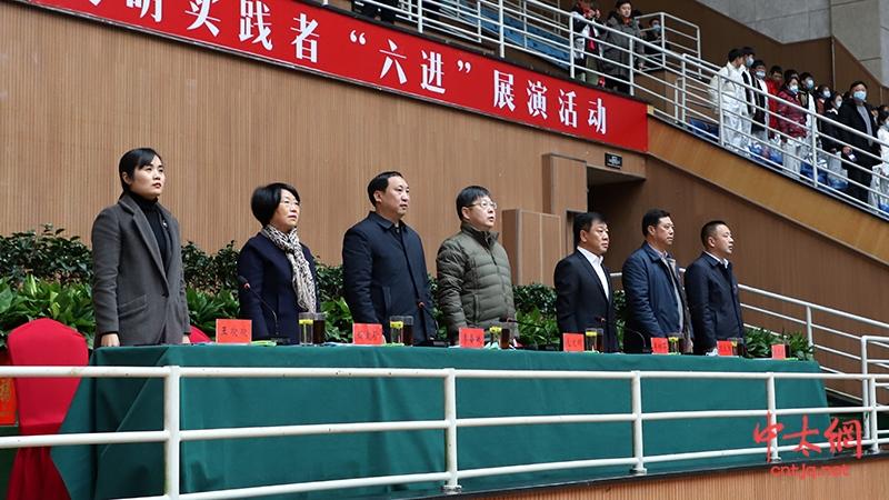 """2020年温县太极拳文明实践者""""六进""""展演活动隆重开幕"""