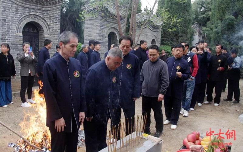 太极先辈陈茂森纪念碑揭碑仪式圆满举行