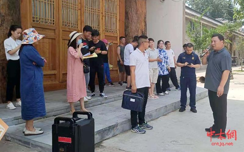 温县太极拳武术文化管理中心组织开展消防应急演练活动