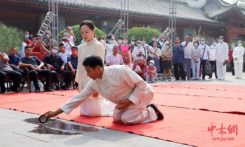 迎国庆 重传承|太极拳名家陈炳收徒仪式于陈家沟祖祠隆重举行